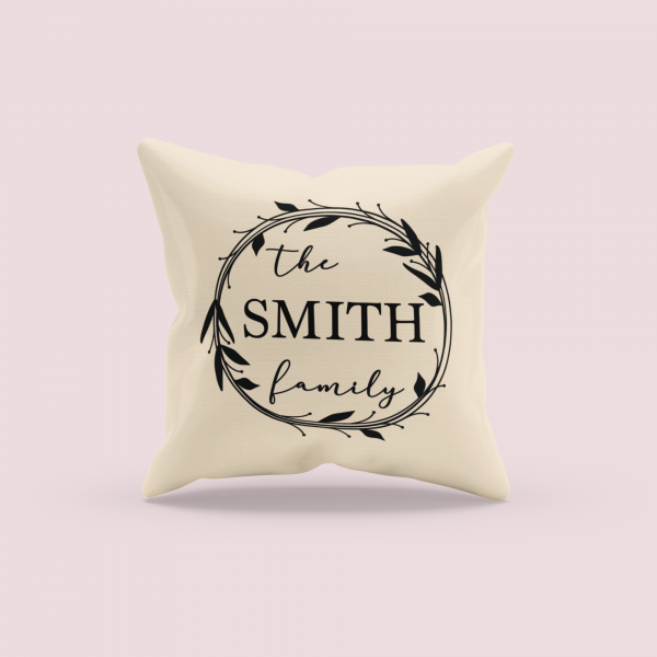 mockup of a sublimated pillow with a customizable background 3257 el1 1