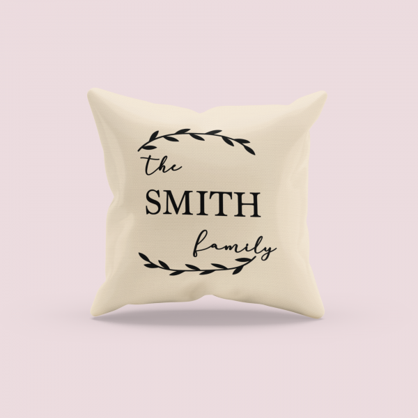 mockup of a sublimated pillow with a customizable background 3257 el1 3