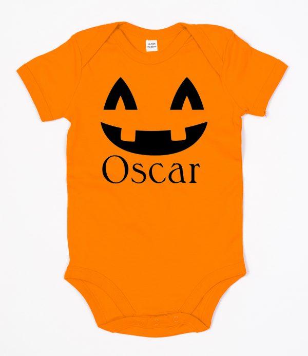 personalised pumpkin