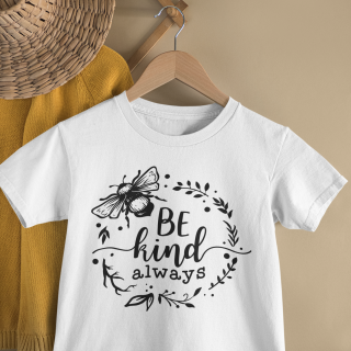 mockup of a kid s t shirt hanging from a wall rack 33736