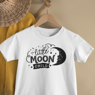 mockup of a kid s t shirt hanging from a wall rack 33736 4