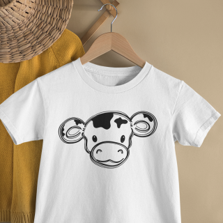 mockup of a kid s t shirt hanging from a wall rack 33736 8