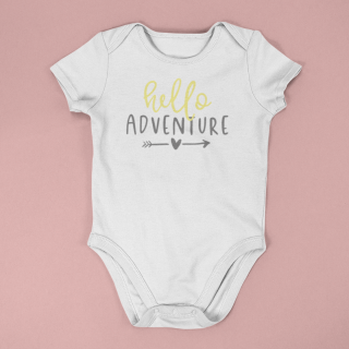 baby onesie mockup lying on a flat surface a15264 11