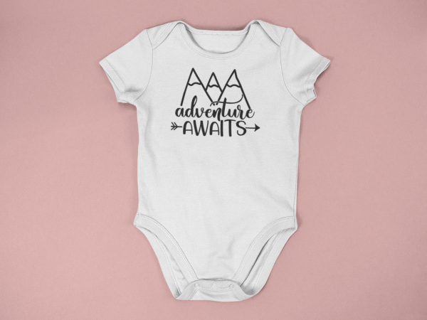 baby onesie mockup lying on a flat surface a15264 12