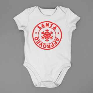 baby onesie mockup lying on a flat surface a15264 7