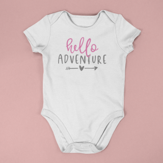 baby onesie mockup lying on a flat surface a15264 9