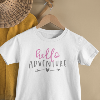 mockup of a kid s t shirt hanging from a wall rack 33736 12