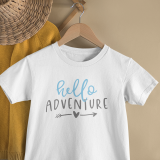 mockup of a kid s t shirt hanging from a wall rack 33736 13