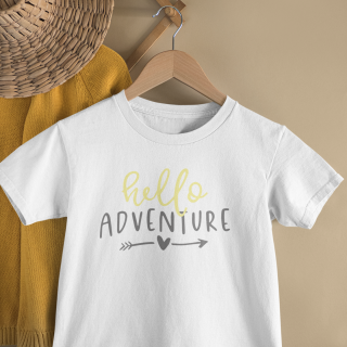 mockup of a kid s t shirt hanging from a wall rack 33736 14