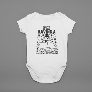 onesie mockup over a solid surface 25127 9