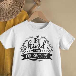 mockup of a kid s t shirt hanging from a wall rack 33736 16