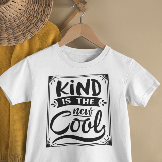 mockup of a kid s t shirt hanging from a wall rack 33736 18