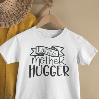 mockup of a kid s t shirt hanging from a wall rack 33736 21
