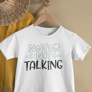 mockup of a kid s t shirt hanging from a wall rack 33736 22