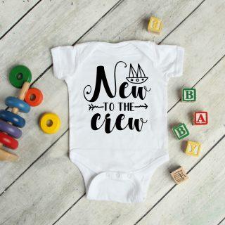 New To The Crew – Baby Grow