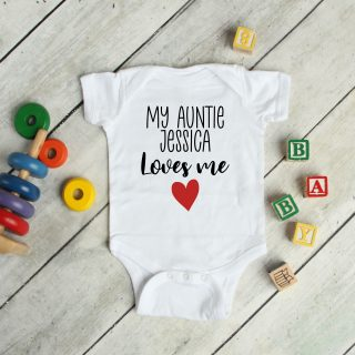 My Family Loves Me – Baby Grow