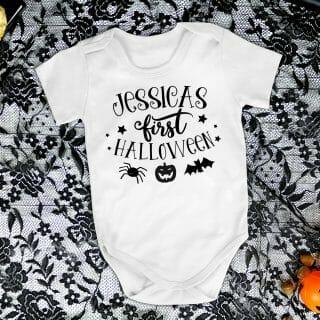 Babys First Halloween – Baby Grow